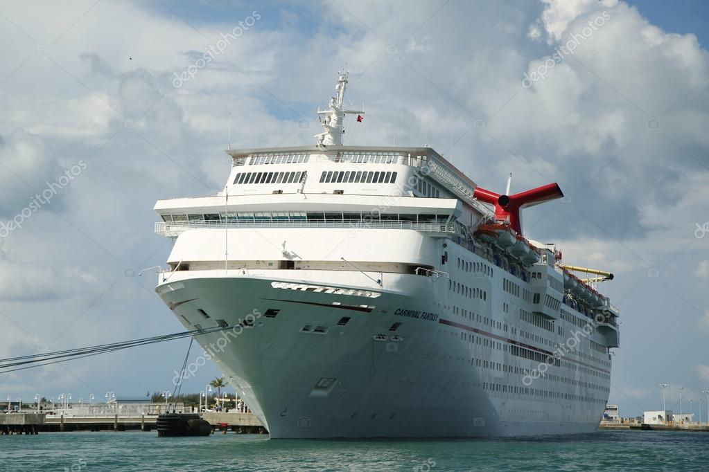 Carnival Fantasy Cruise Ship Anchors At The Port Of Key West - Fantasy cruise ship pictures