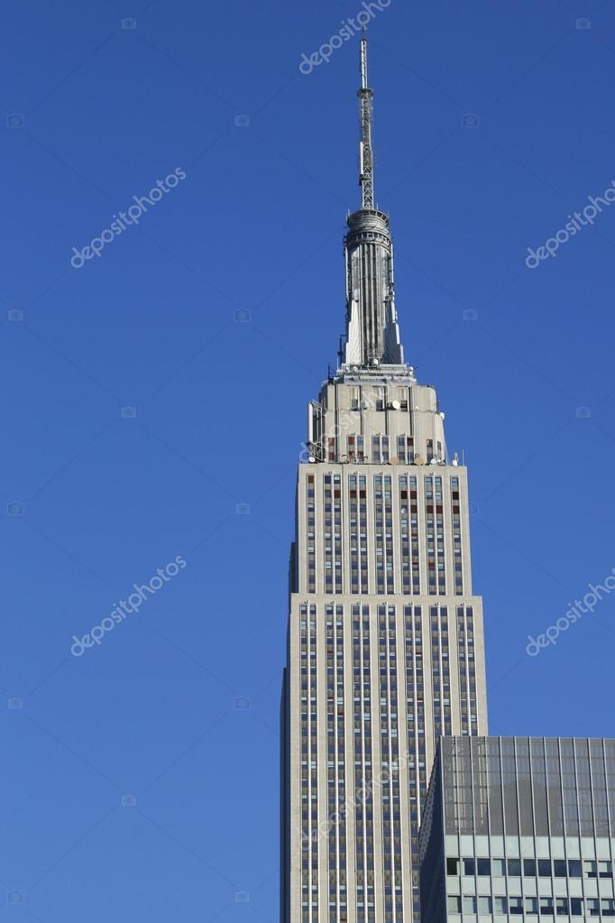 Empire State Building close up
