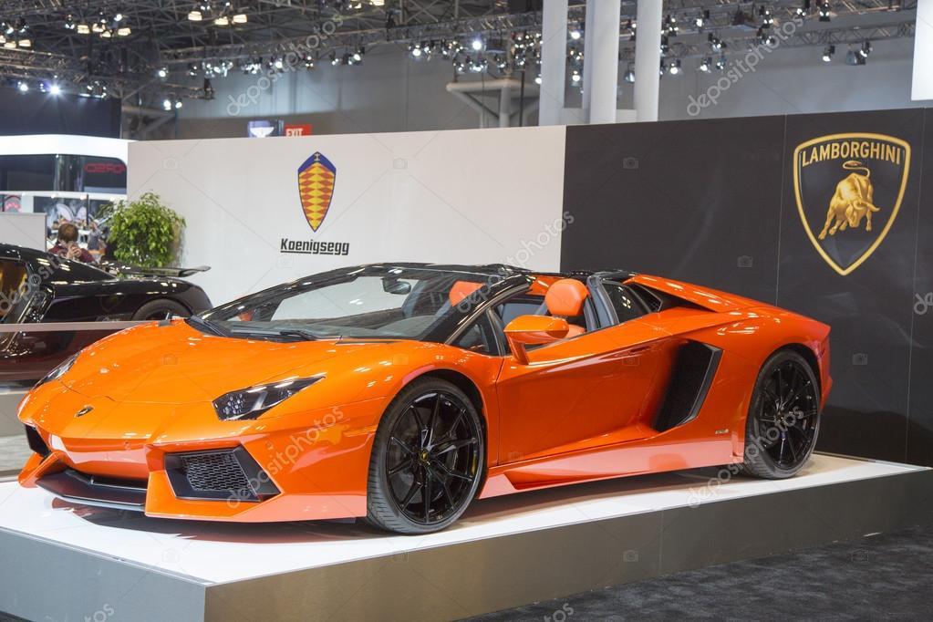 Lamborghini Luxe Sport Auto Redactionele Stockfoto C Zhukovsky