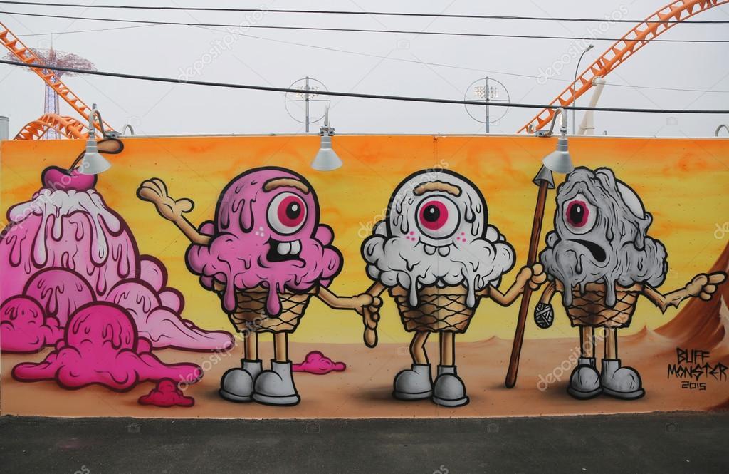 Arte Mural En Las Nuevas Paredes De Arte Arte Callejero Atraccion