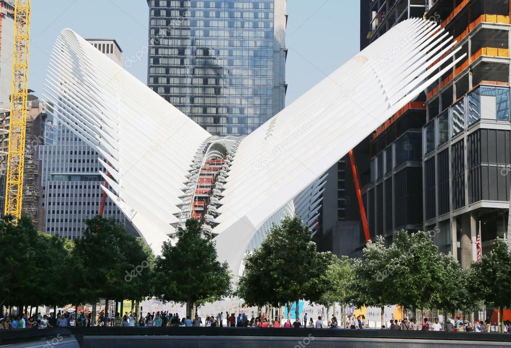 Construction Of The World Trade Center Transportation Hub