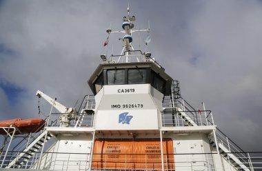 Fueguino ferry at Bahia Azul, Chile