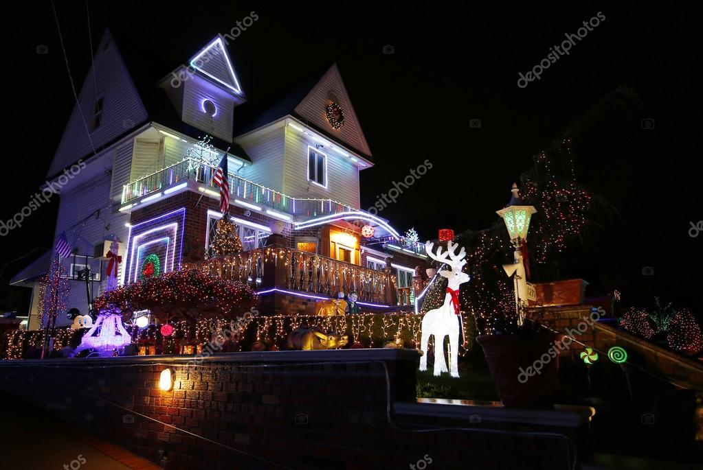 Boże Narodzenie Dom Ozdoba Oświetlenie Wyświetlania W