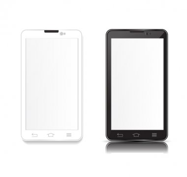 black and white android phone