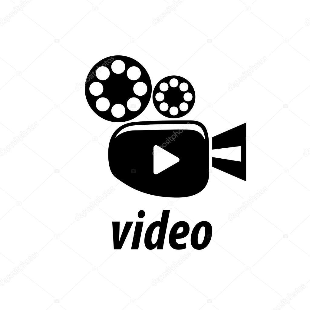 vector logo camcorder � stock vector 119372872