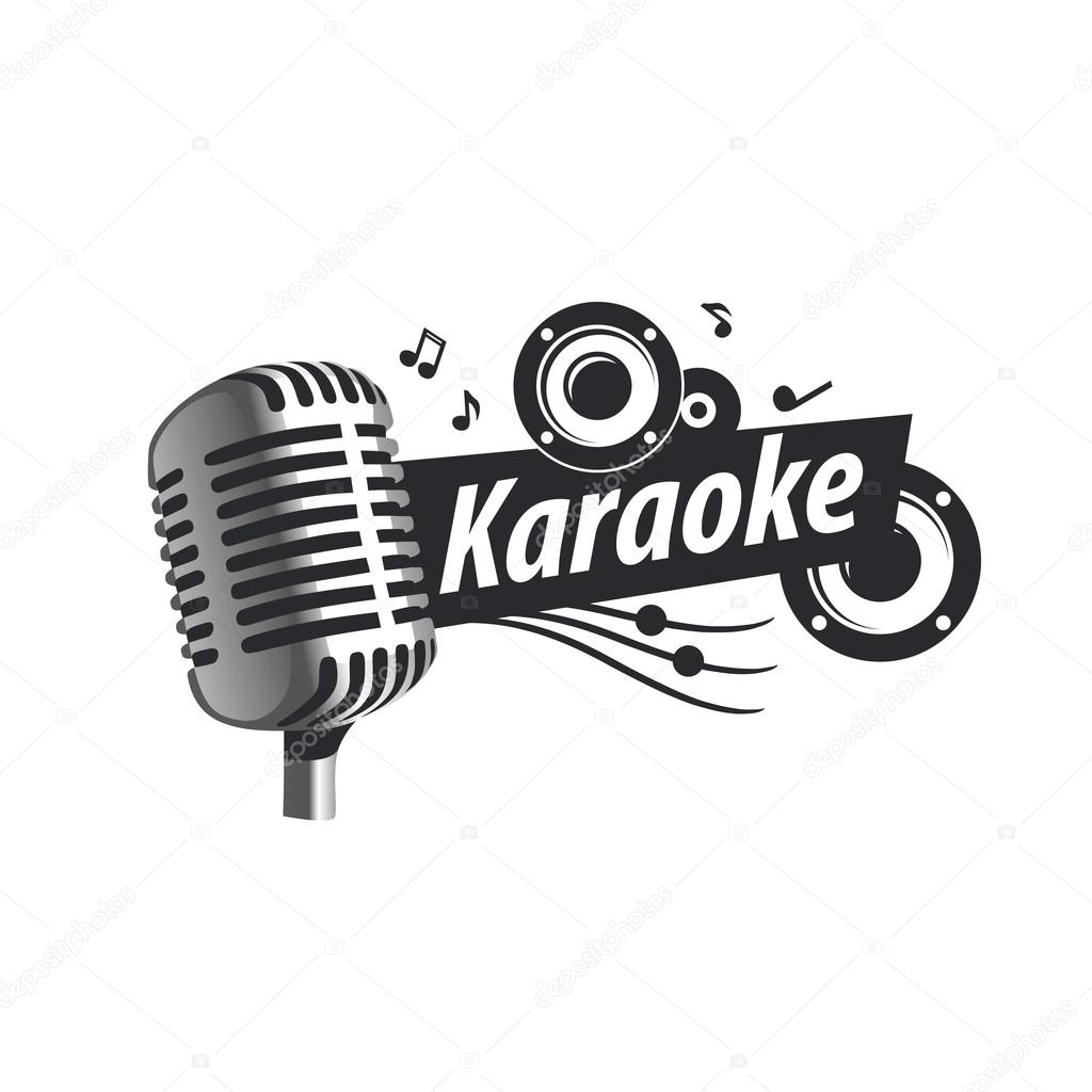 Find The Perfect Logo For Your Business Logo Com >> Stock vector Karaoke Microphone