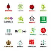 Fényképek legnagyobb gyűjteménye vector logók bambusz