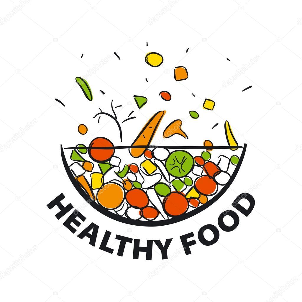 Top 10 Healthy Diet Food Logos