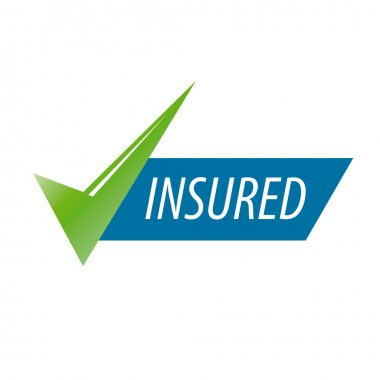 abstract vector icon for an insurance company