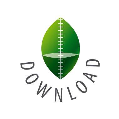 Vector green leaf logo for download