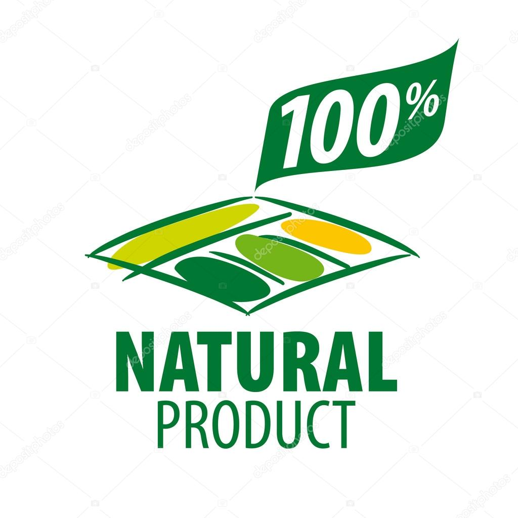vector logo garden beds for 100% natural products