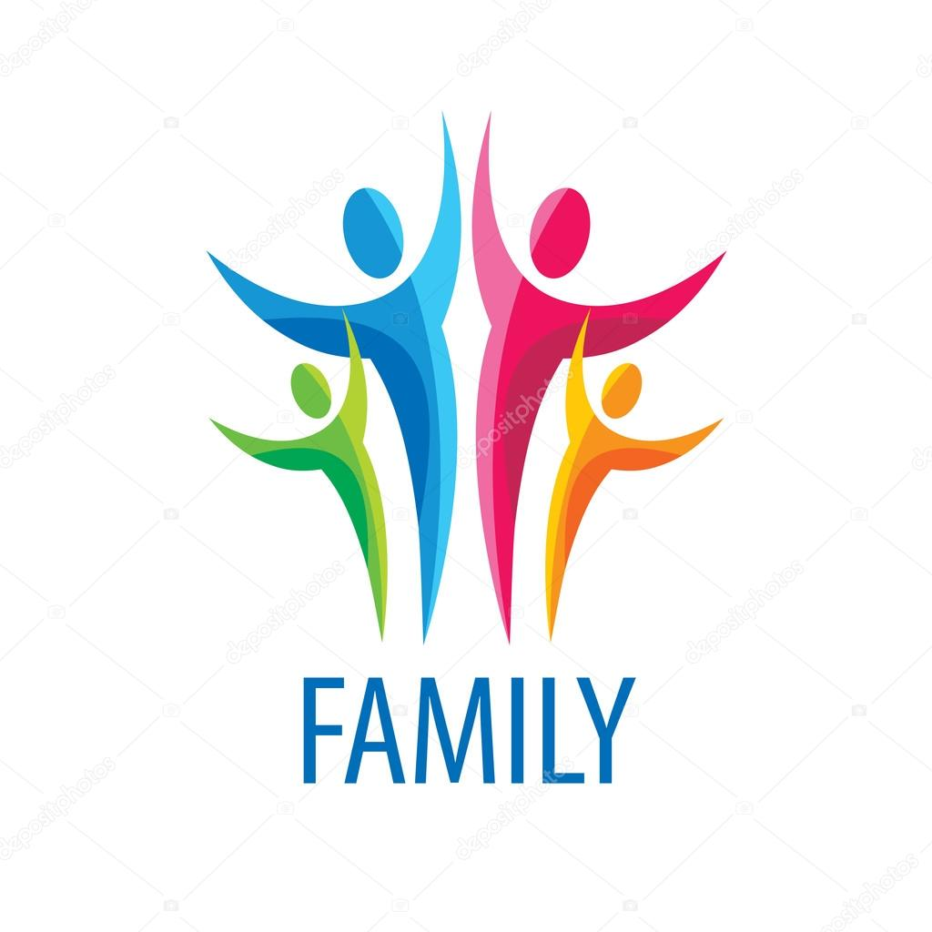vector logo family � stock vector 169 artbutenkov 92580114