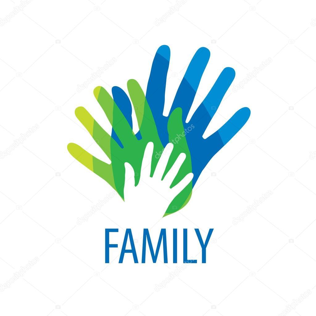 Vector logo familia — Vector de stock © artbutenkov #92580172