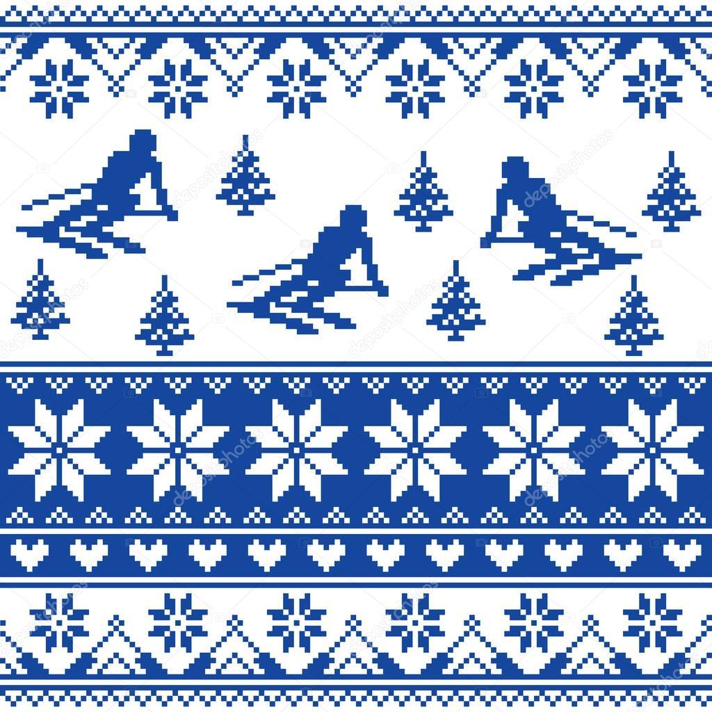 Winter Knit Pattern