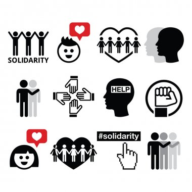 Human Solidarity, social icons