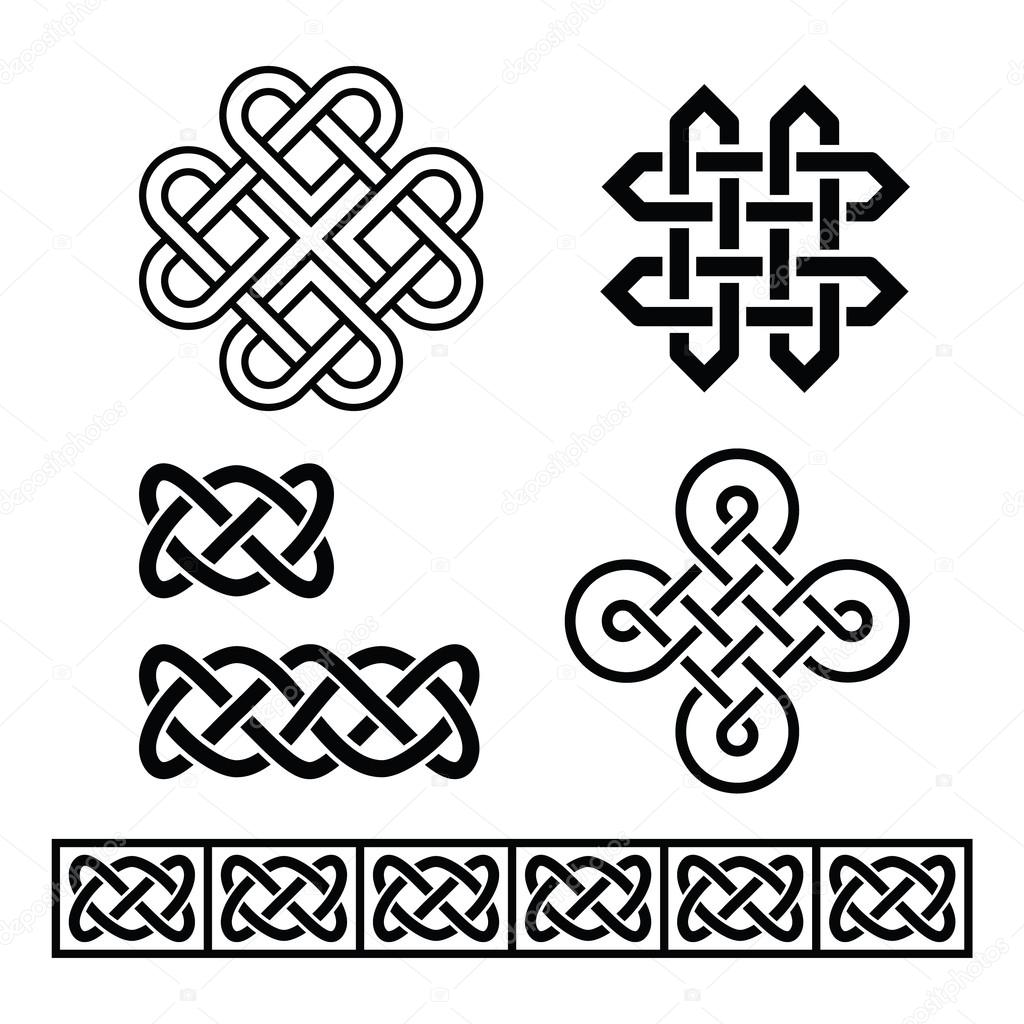 Celtic irish patterns and braids vector stock vector celtic irish patterns and braids vector stock vector buycottarizona Image collections