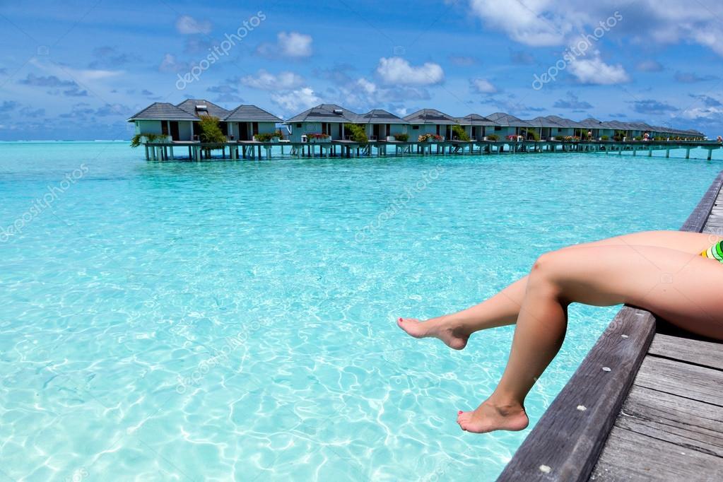 Paradiso Per Le Vacanze Sulle Isole Caraibiche Foto Stock