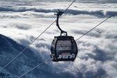 Ski resort jasna south,slovakia.low tatras.new lanovka funitel. Foto: 27. leden 2013