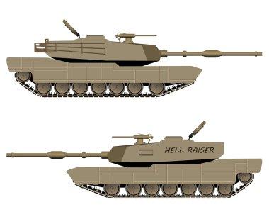 Vector Battle Tank