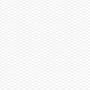 Isometric Grid Pattern