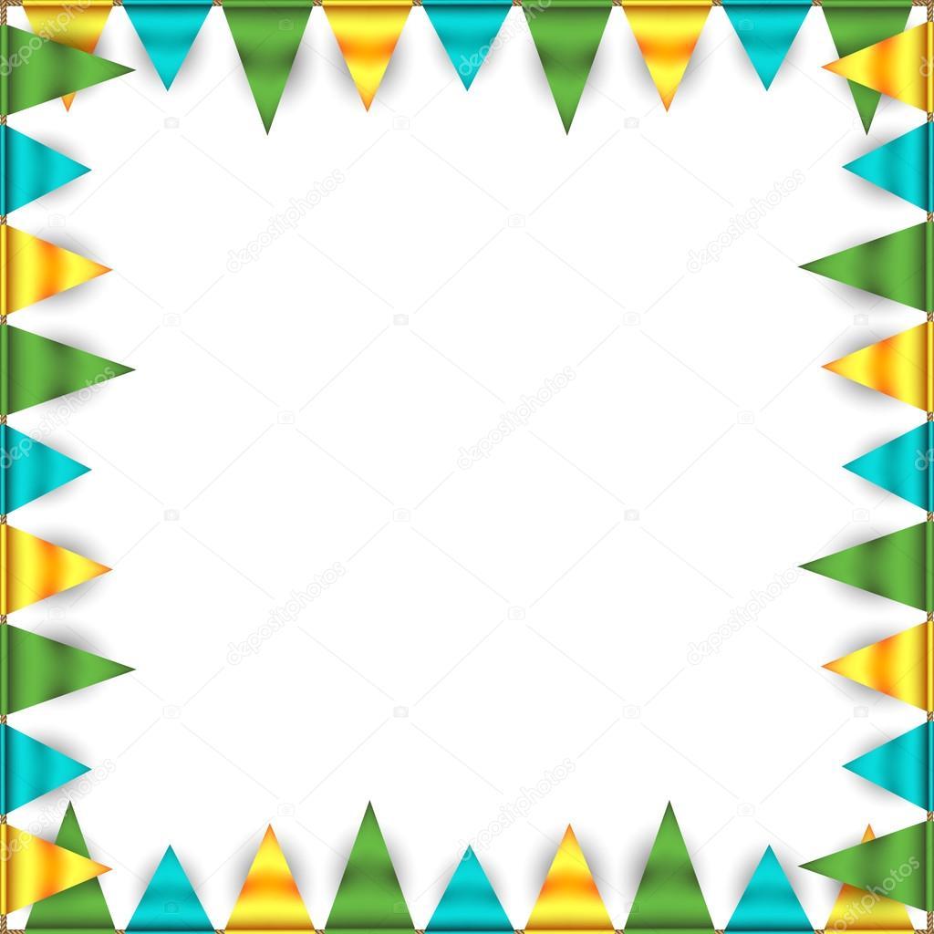 Geburtstag-Rahmen mit Ammern — Stockvektor © robisklp #90360050