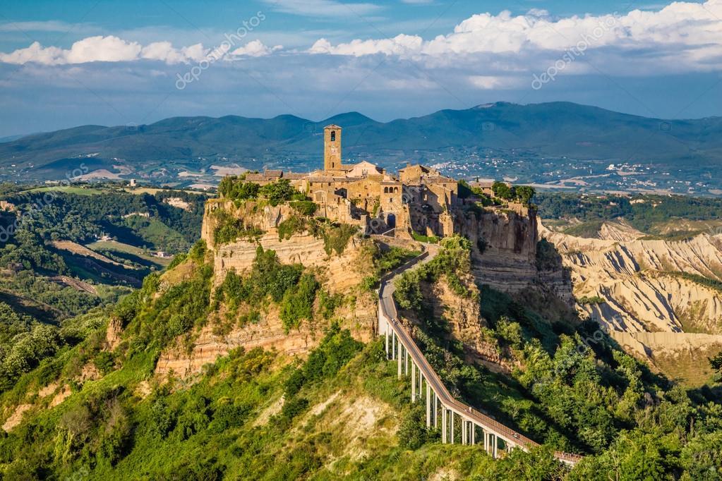 Civita di Bagnoregio, Lácio, Itália — Fotografias de Stock ...