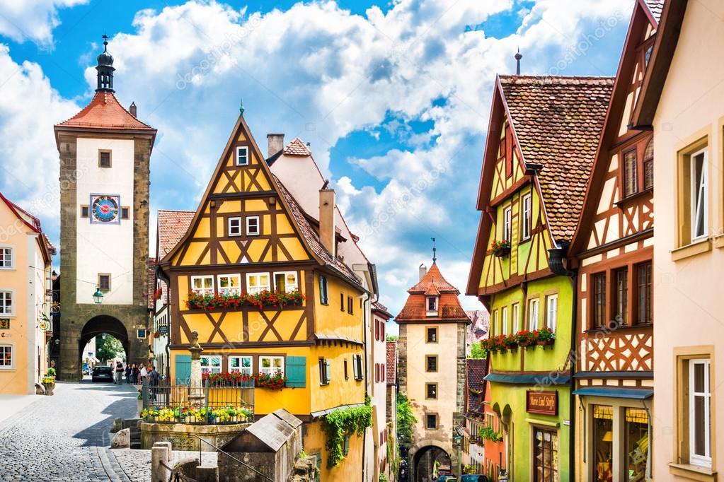 Hist rico de la ciudad de rothenburg ob der tauber - Rothenburg ob der tauber alemania ...