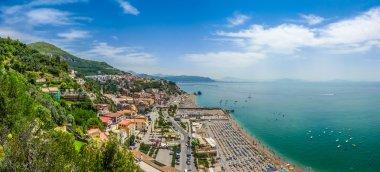 Postcard view of Amalfi Coast, Campania, Italy