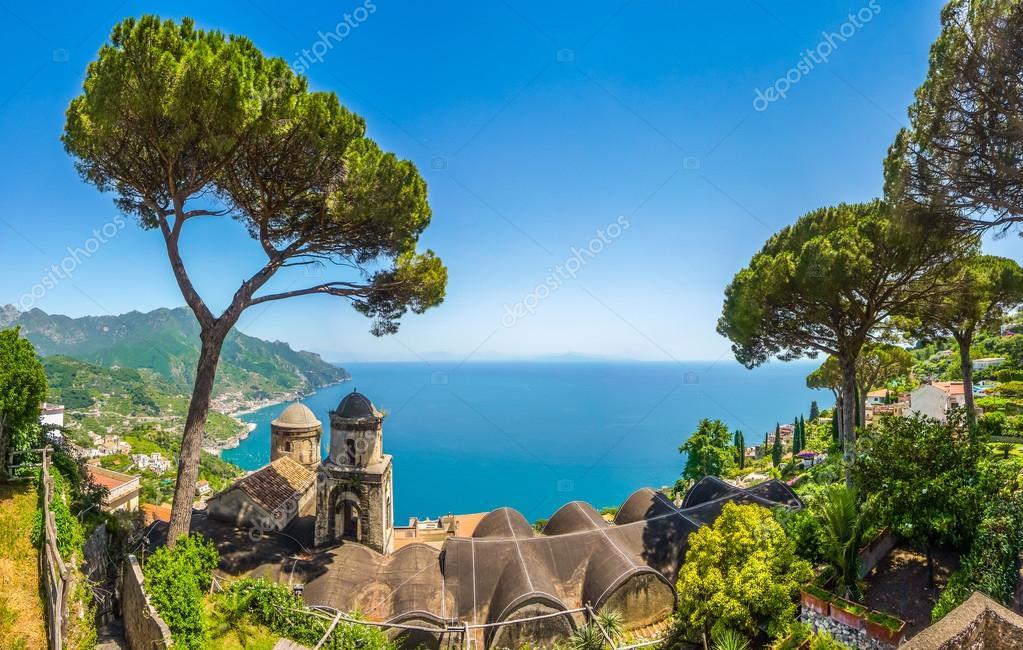 Vista panoramica foto cartolina della famosa costiera for Piani domestici della carolina costiera