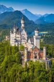 neuschwanstein märchenschloss bei füssen, bayern, deutschland