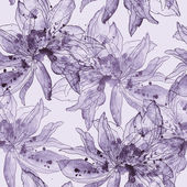 Fotografie flowers with spots of paint
