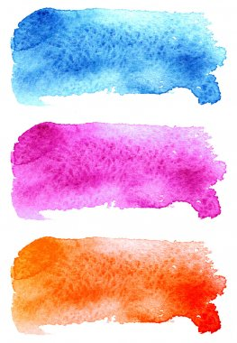 scanned watercolor stains, texture