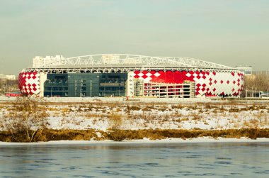 football stadium Spartak Moscow
