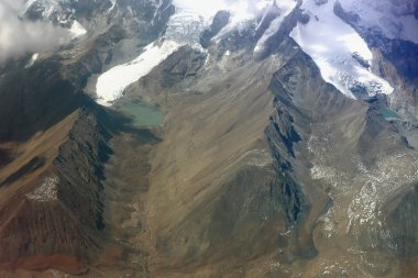 Aerial view of the lesser tibetan Himalayas. 1134