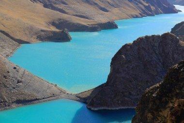 Manla reservoir on Nyang river. Shigatse pref.-Tibet. 1567