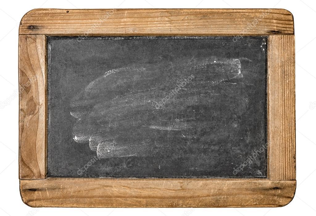 pizarra con marco de madera — Foto de stock © LiliGraphie #100507660