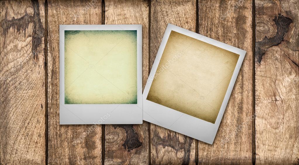Polaroid-Foto-Rahmen mit Instagram-Effekt — Stockfoto © LiliGraphie ...