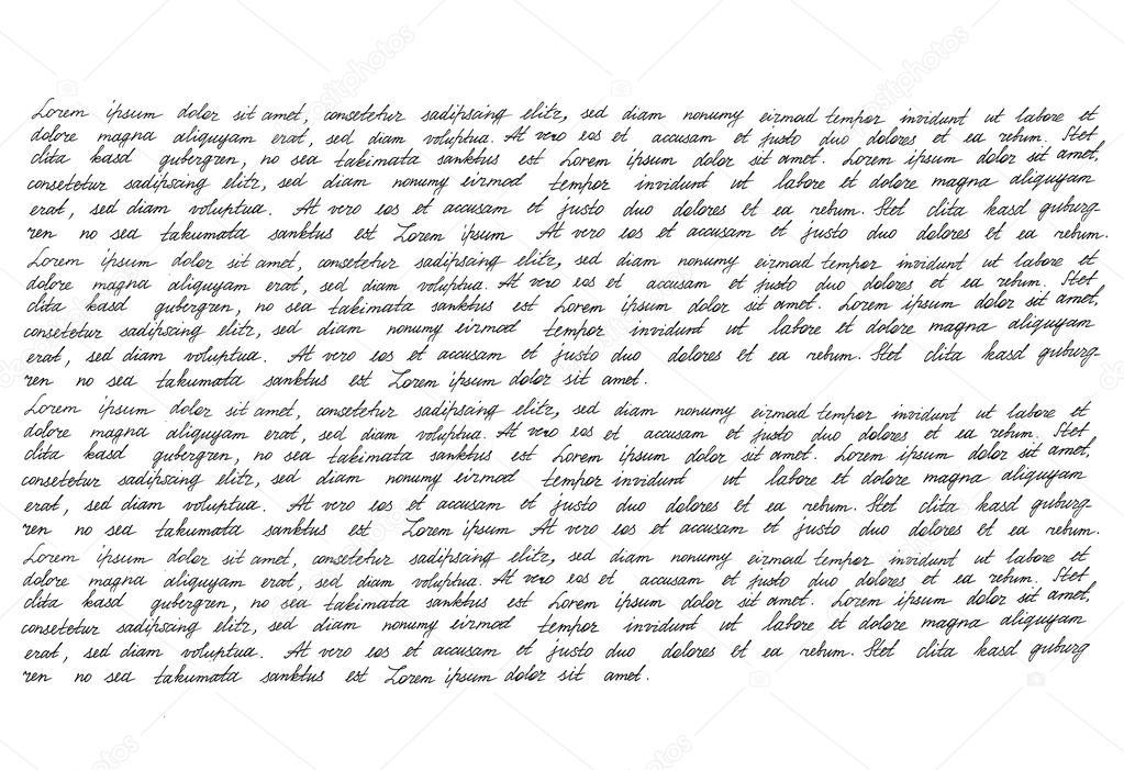 Handwriting Manuscript texture