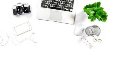 Office desk  background.