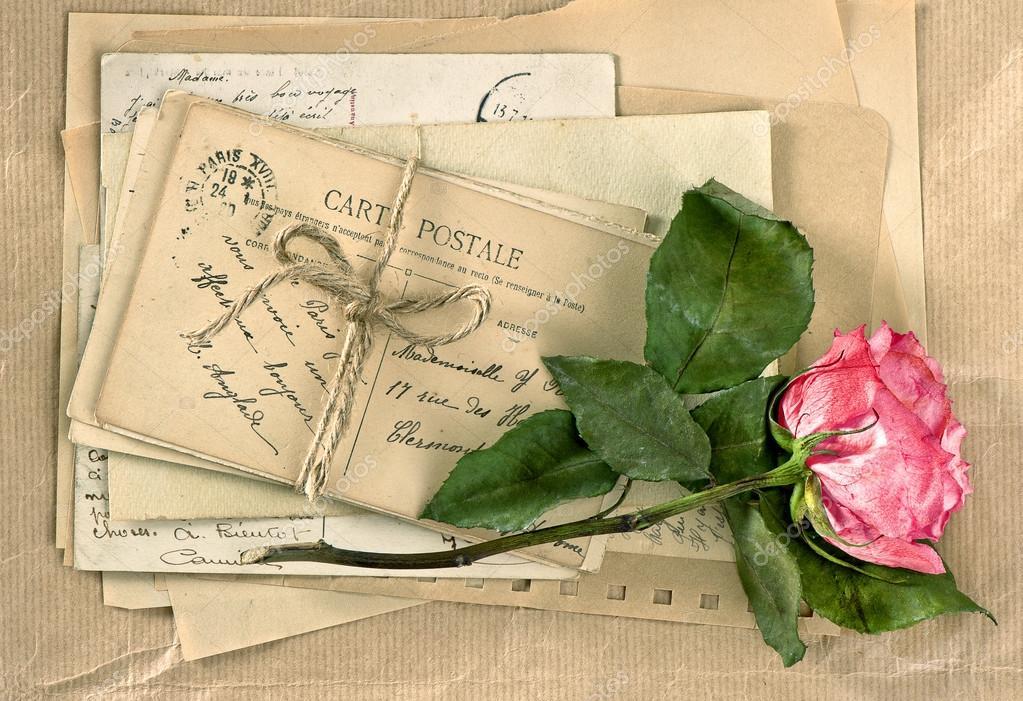 Ретро почта открытки