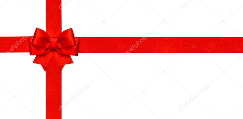 Red ribbon bow isolated on white gift card concept stock photo red ribbon bow isolated on white gift card concept stock photo 88343982 negle Gallery