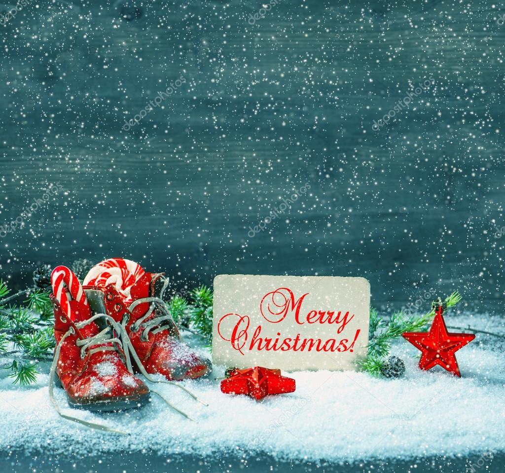 Buon Natale 883.Immagini Buon Natale Antiche Stelle Di Natale Decorazione Rosso E