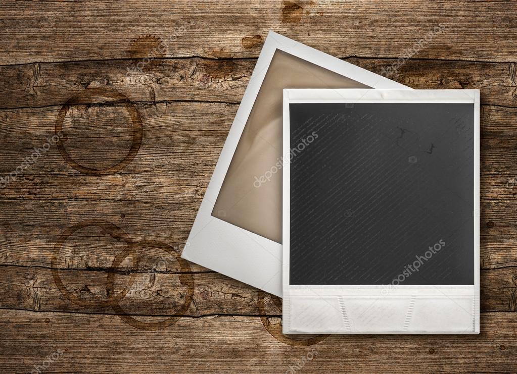 Bilderrahmen aus Holz-Hintergrund — Stockfoto © LiliGraphie #97182240