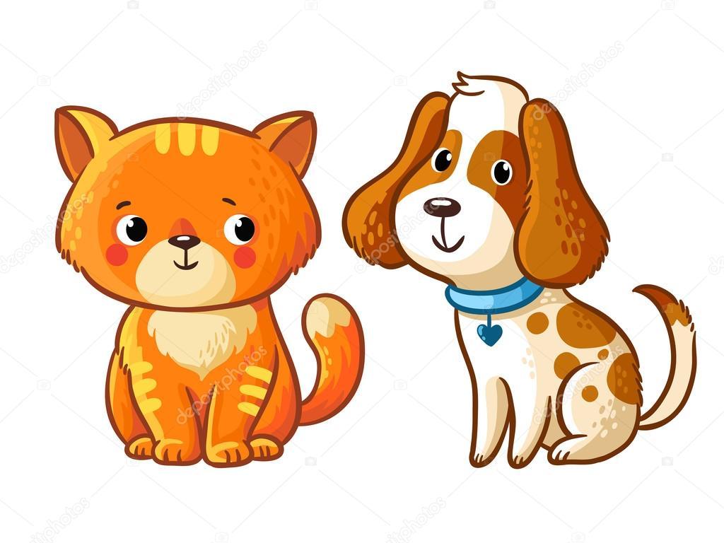 Dibujos: Perros Y Gatos Animados