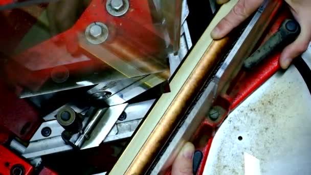 Nože na stroji, bageta rámce