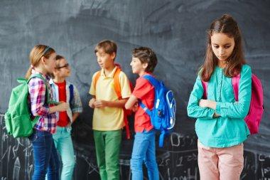 Cruel classmates mocking