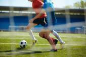 Fotografie boj fotbalistů
