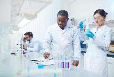Scientific Experiment in Lab