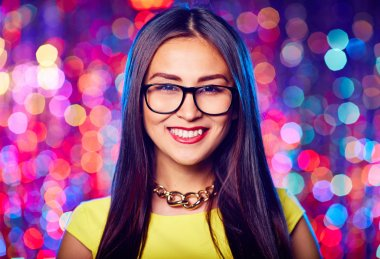 Asian woman in eyeglasses