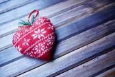 Fotografie Dekorační hračky srdce